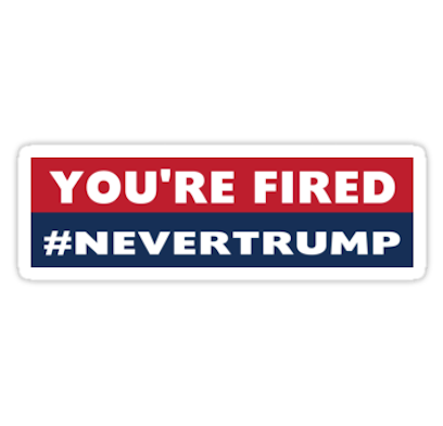Never Donald Trump for President 2016 Stickers messages sticker-9