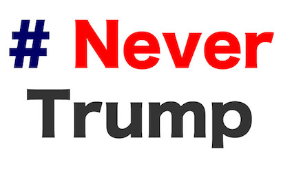 Never Donald Trump for President 2016 Stickers messages sticker-2