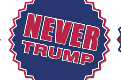 Never Donald Trump for President 2016 Stickers messages sticker-11