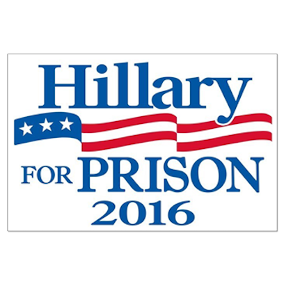 Crooked Hillary Clinton messages sticker-4