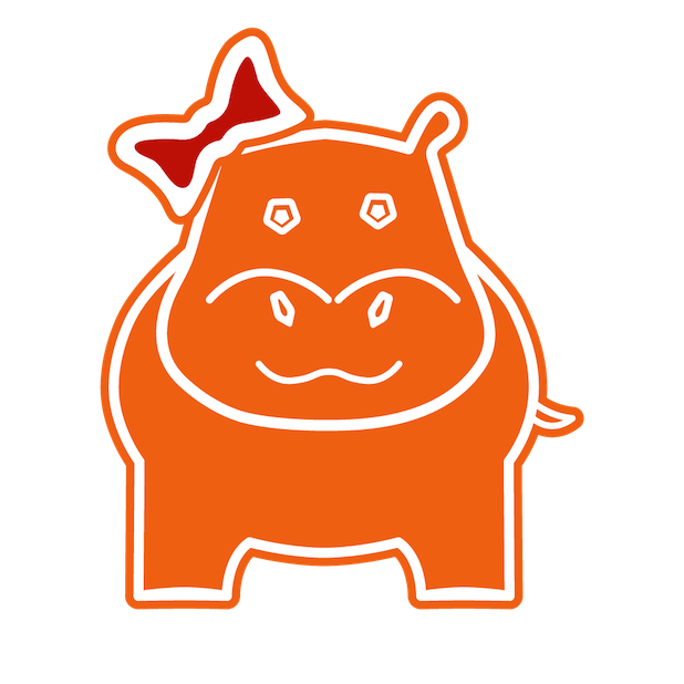 Jack and His Hippo Family messages sticker-2