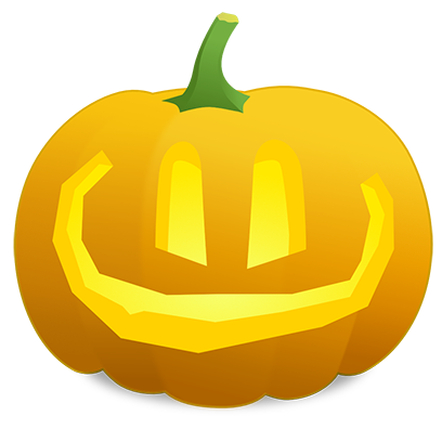Pumpkin Faces messages sticker-10