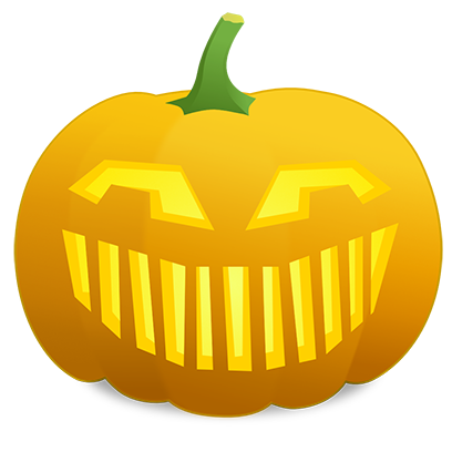 Pumpkin Faces messages sticker-8