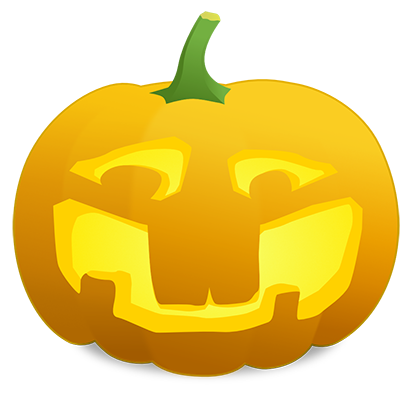 Pumpkin Faces messages sticker-7