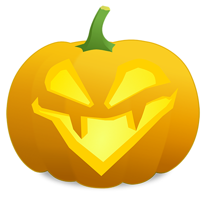 Pumpkin Faces messages sticker-6