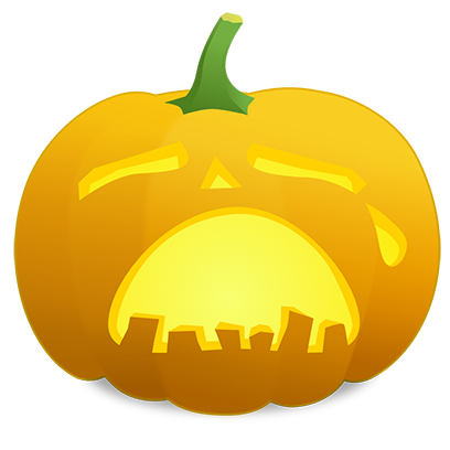 Pumpkin Faces messages sticker-0