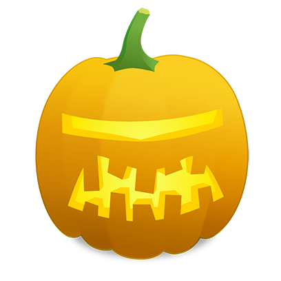 Pumpkin Faces messages sticker-4