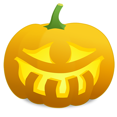 Pumpkin Faces messages sticker-5