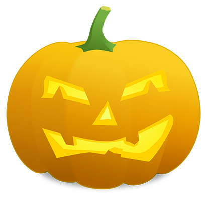 Pumpkin Faces messages sticker-9