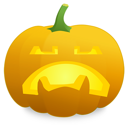 Pumpkin Faces messages sticker-2