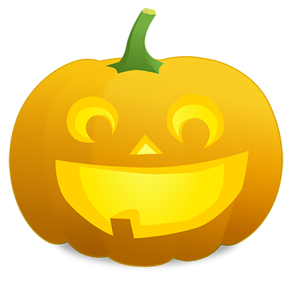 Pumpkin Faces messages sticker-3