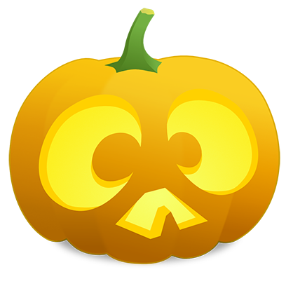 Pumpkin Faces messages sticker-1