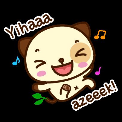 Pandadog (Bahasa Indonesia) - Mango Sticker messages sticker-3
