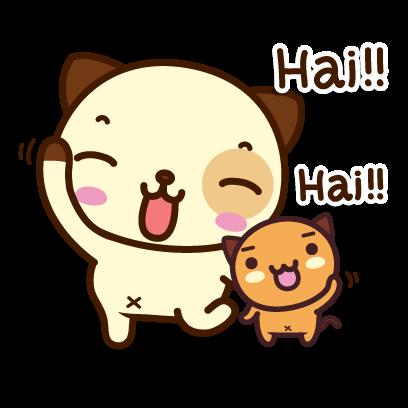 Pandadog (Bahasa Indonesia) - Mango Sticker messages sticker-0