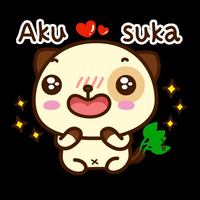 Pandadog (Bahasa Indonesia) - Mango Sticker messages sticker-4