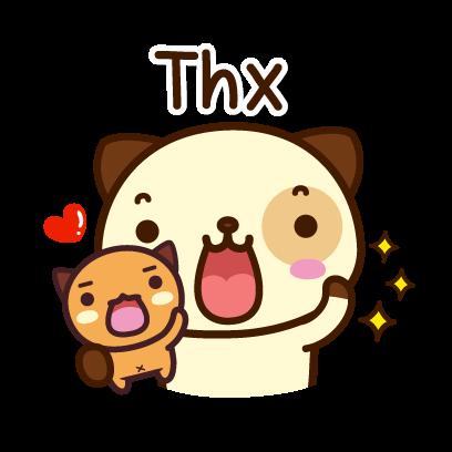 Pandadog (Bahasa Indonesia) - Mango Sticker messages sticker-7