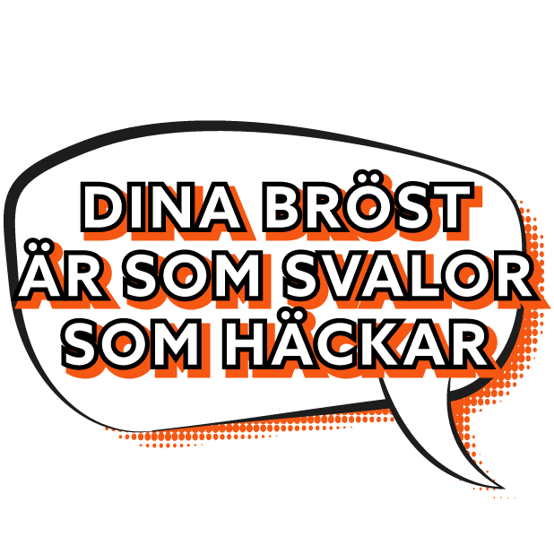 Säg det med Melodifestivalen messages sticker-10