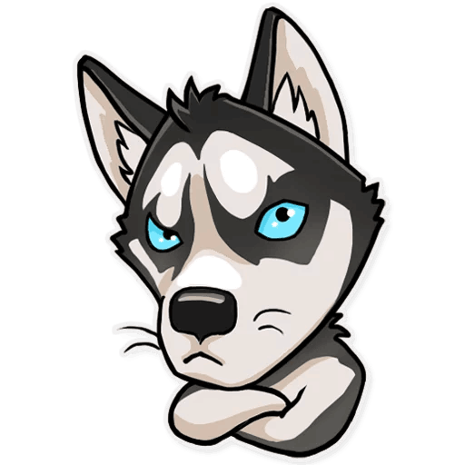 Atony Wolf Sticker Pack messages sticker-2