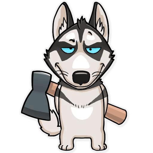 Atony Wolf Sticker Pack messages sticker-3
