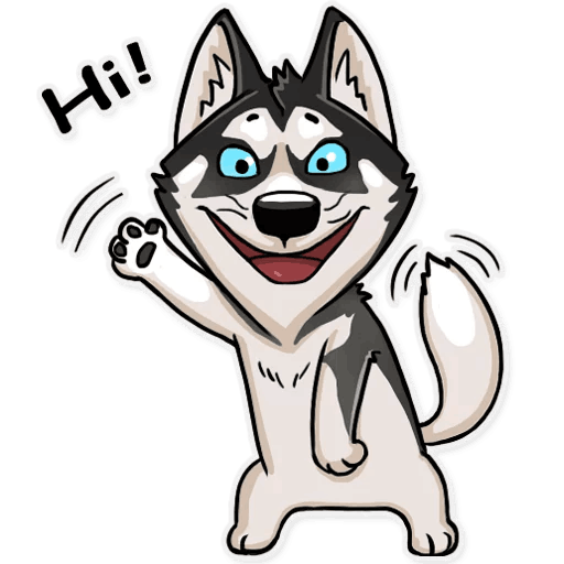 Atony Wolf Sticker Pack messages sticker-0