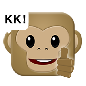 Monkey Emojis messages sticker-9