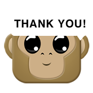 Monkey Emojis messages sticker-4