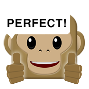 Monkey Emojis messages sticker-2