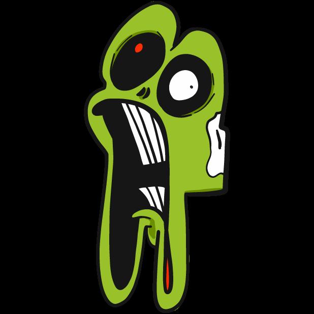 Zombody Help Me messages sticker-9