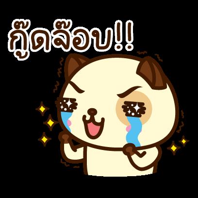 แพนด้าด๊อก (ภาษาไทย) - Mango Sticker messages sticker-8