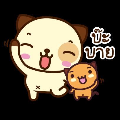 แพนด้าด๊อก (ภาษาไทย) - Mango Sticker messages sticker-0