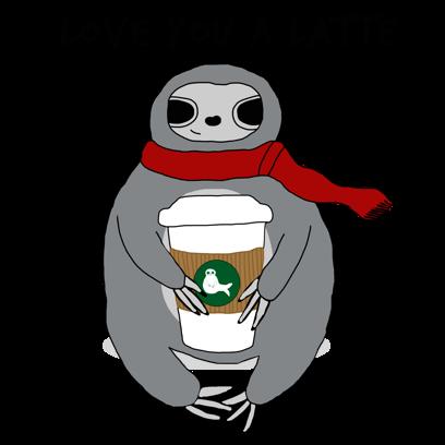 Sassy Sloths messages sticker-2