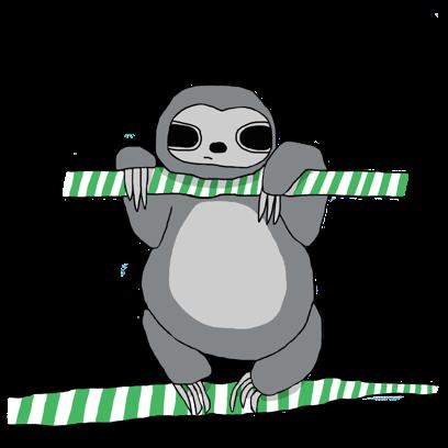 Sassy Sloths messages sticker-8