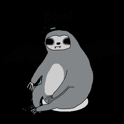Sassy Sloths messages sticker-3