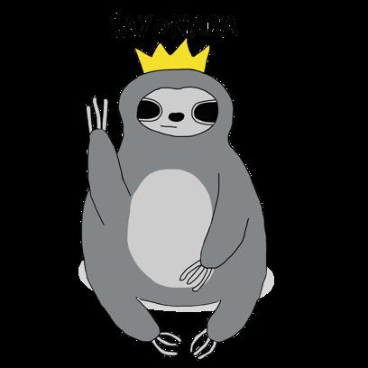 Sassy Sloths messages sticker-7