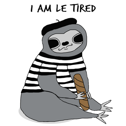 Sassy Sloths messages sticker-11