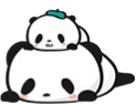 Panda Emoji - Sticker messages sticker-10