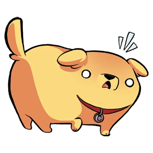 Golden Dog Sticker Pack messages sticker-2