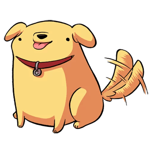 Golden Dog Sticker Pack messages sticker-1