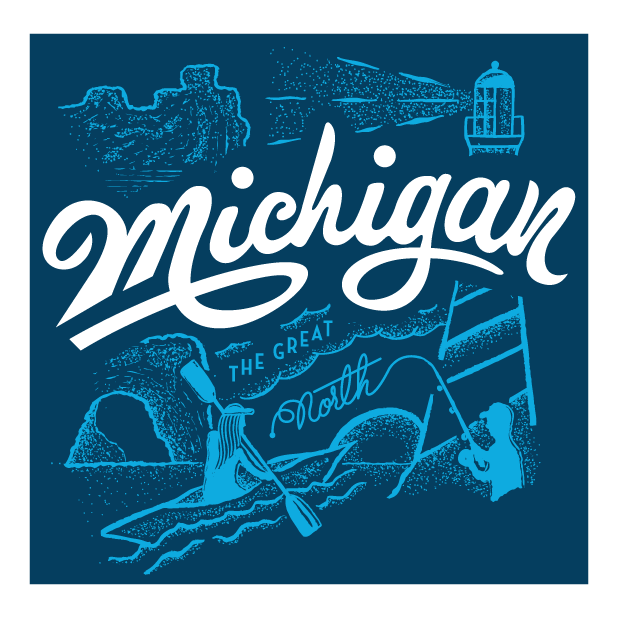 Michigan Great Outdoors messages sticker-9