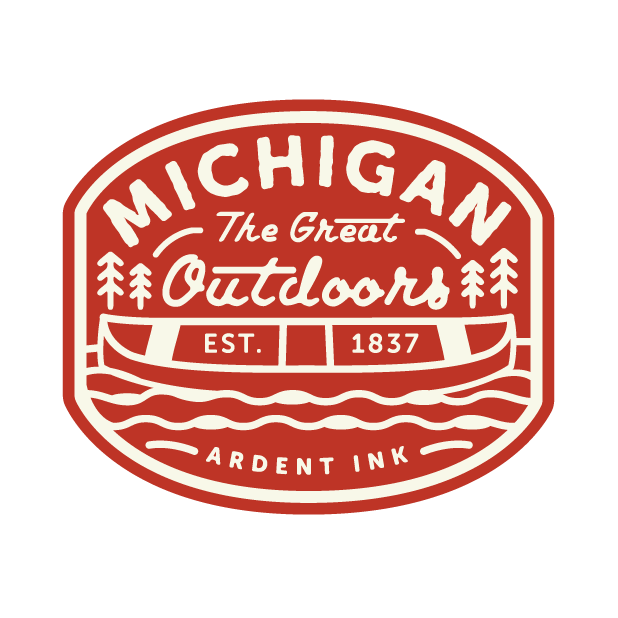 Michigan Great Outdoors messages sticker-2