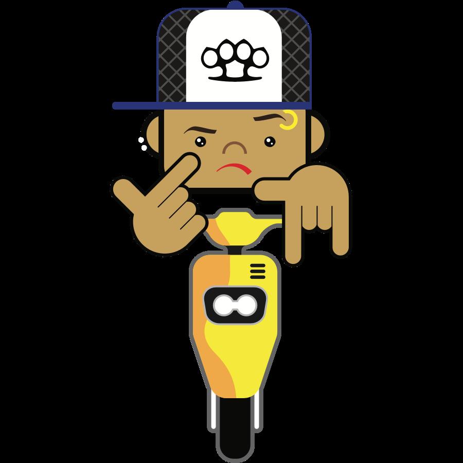 Bad Boy Style messages sticker-2