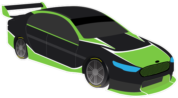 V8 Bathurst Supercars Stickers messages sticker-3