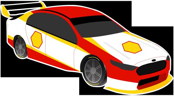 V8 Bathurst Supercars Stickers messages sticker-11