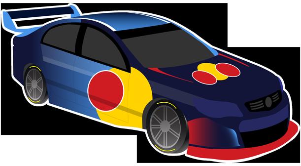 V8 Bathurst Supercars Stickers messages sticker-1