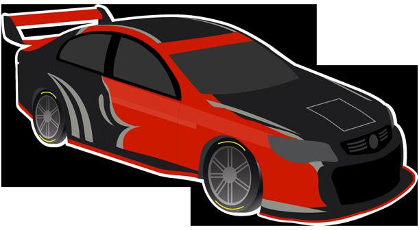V8 Bathurst Supercars Stickers messages sticker-8
