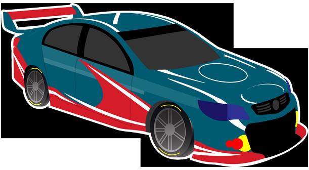 V8 Bathurst Supercars Stickers messages sticker-4