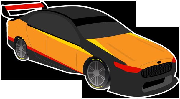 V8 Bathurst Supercars Stickers messages sticker-7