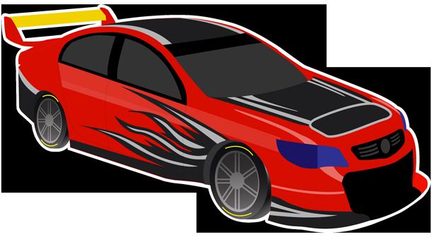 V8 Bathurst Supercars Stickers messages sticker-10