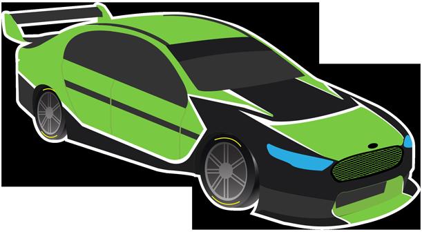 V8 Bathurst Supercars Stickers messages sticker-2