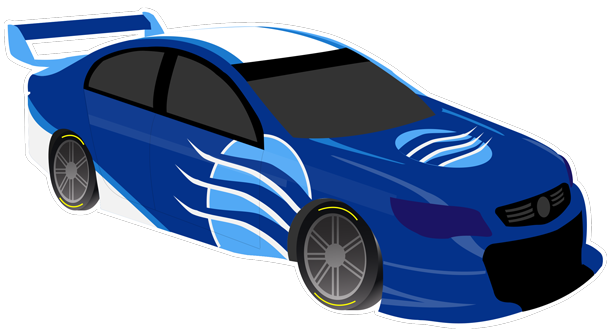 V8 Bathurst Supercars Stickers messages sticker-9